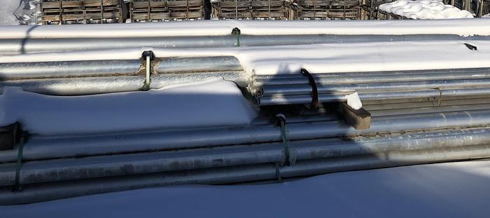 Aluminum Bus / Hardware - Poles, posts, ball&sockets, plates