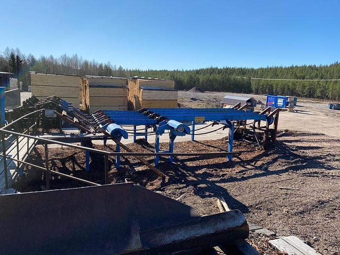 Used Lindqvist Circular sawmill