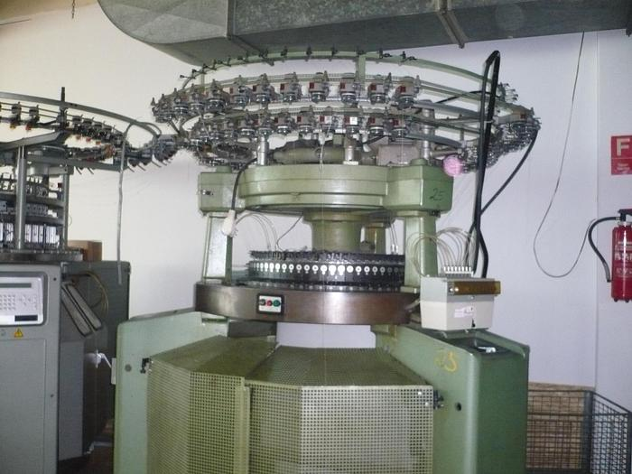 "SULZER MORAT  RS72  Interlockmaschine E28/30""/72"