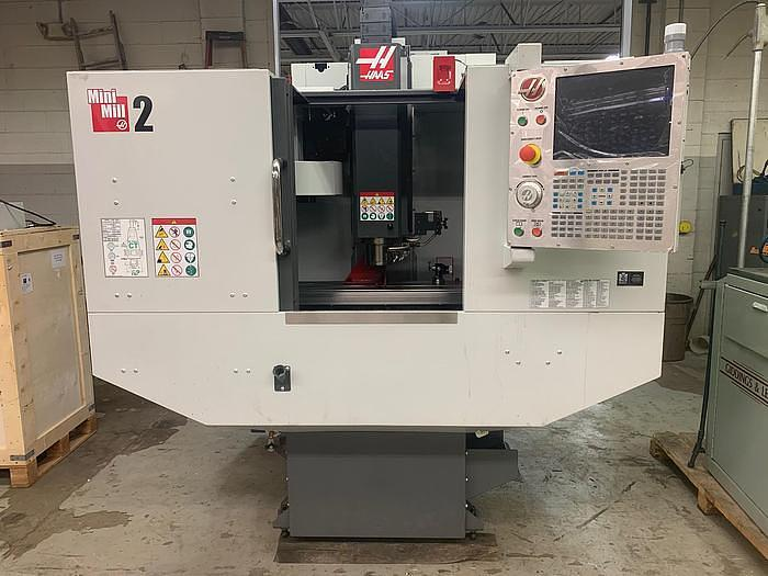 Used 2016 HAAS  MINI MILL 2, BARELY USED, NEVER USED PROBE, RIGID TAPPING