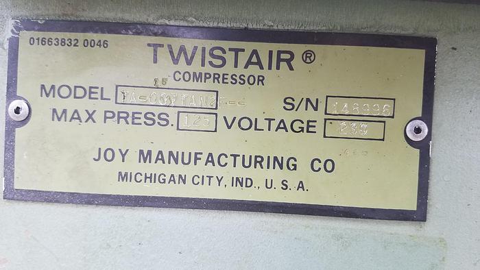 Joy Twistair Air Compressor