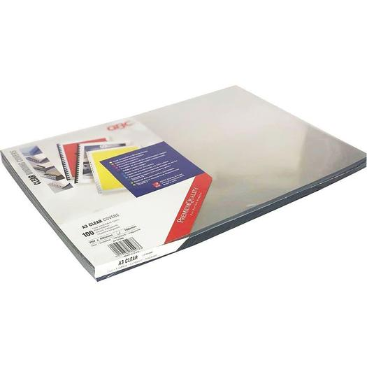 Branded PVC A3 Protective Binding Cover Sheets 180Micron (Pack of 100)