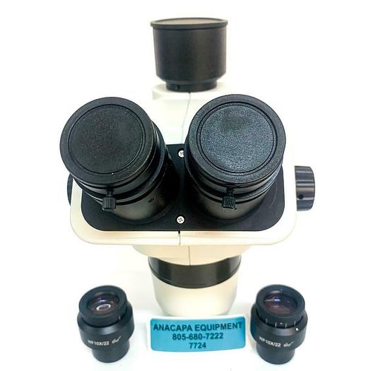 Trinocular StereoZoom SZ6 Microscope Body with Eyepieces NEW (7724)W