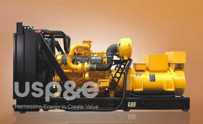 0.8 MW 2019 New Caterpillar C32 Diesel Generator