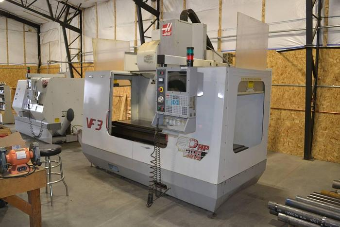 Used HAAS VF-3 VERTICAL MILL