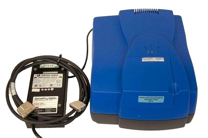 Used Axon Instruments GenePix 4000A Microarray Scanner w/ Power Supply PARTS (8918)R