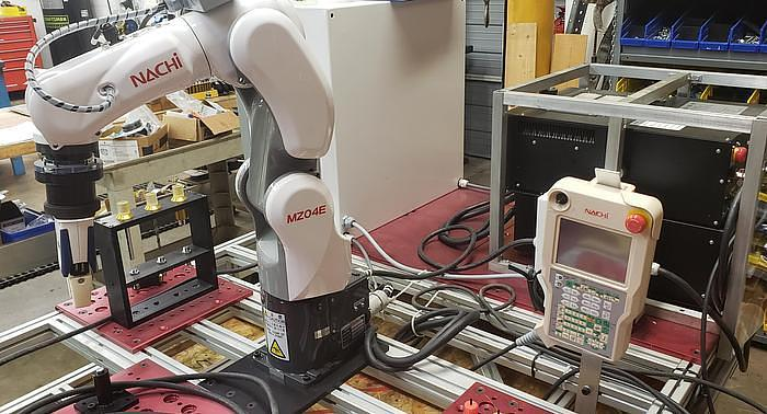 2018 NACHI MZ04E 6 AXIS CNC COLLABRATIVE ROBOT 4 KG X 541 MM REACH NEVER USED BUILT 2018