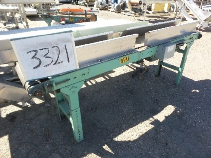 Hytrol Case Conveyor 12'' wide x 8' Long #3321