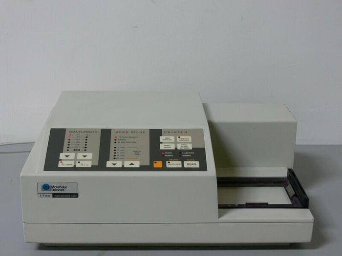 Used Molecular Devices UV Max Kinetic Microplate Reader