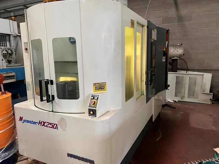 Used 2002 Kitamura Mycenter HX250i Horizontal Machining Center