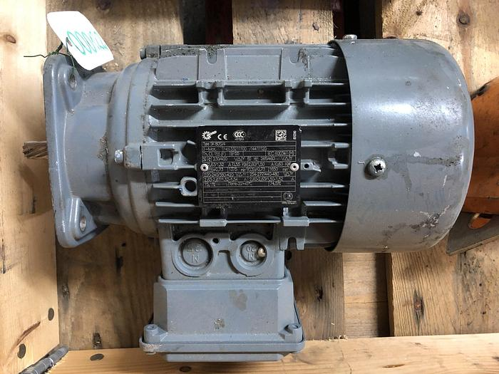 Used NORD Electric motor 0,55 kW, 1650 rpm.