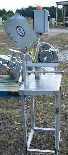 Used Cantrell Hand Fed Wing Saw; Md#CS-100