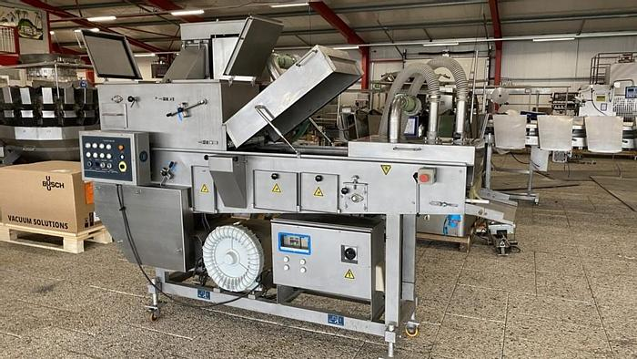 Used Hiwell pre-duster flouring machine 400mm