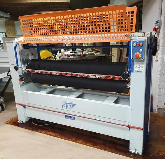 2005 FIN s.r.l. Italy Glue spreader with 2 rollers Mod. SC2R-1500