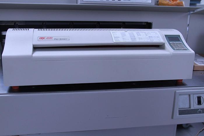 Used GBC 4500 Pro Pouch Laminator