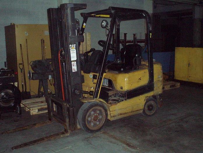 Used 5,000 lb. CATERPILLAR Model GC25K Forklift; MFG 2000