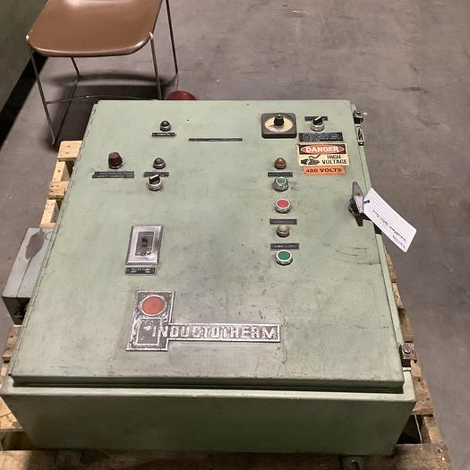 Used INDUCTOTHERM CONTROL CABINET