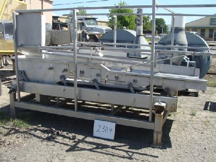 Commercial Mfg. 4' Wide x 11 Long Dewatering Shaker