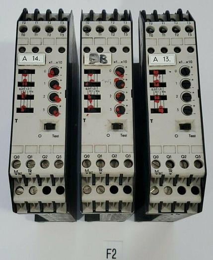 Used *PREOWNED* LOT OF 3 SIEMENS Simatic S5-110 6ES5 380-7AA12 Timer Modules Warranty