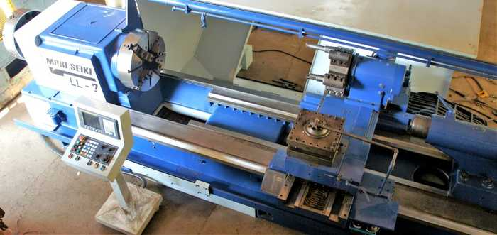 MORI SEIKI LL7 CNC OIL COUNTRY LATHE MACHINE (REBUILT)