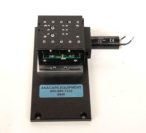 Used Maxon 118745 DC Motorized Translation Stage For Micromanipulators USED (8945)R