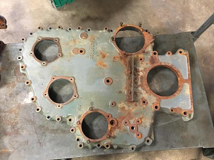 Used GOOD USED DETROIT DIESEL 12.7L S60 FRONT TIMING COVER, PN# 23505876