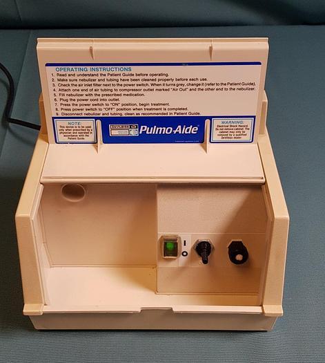 Gebraucht DeVILBISS Pulmo-Aide 5610U Compressor Nebulizer System