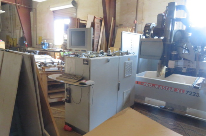 Holzher Pro Master XL 7223 CNC Router