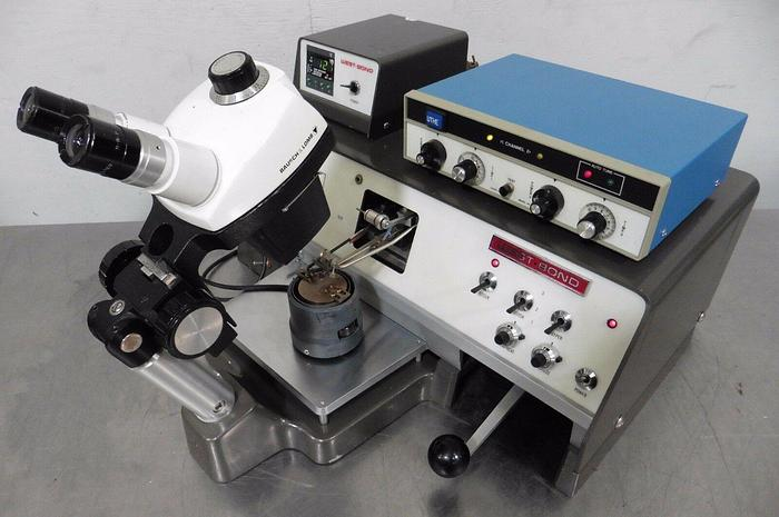 Used West-Bond 7700A Ultrasonic Ball & Wedge Wire Bonder
