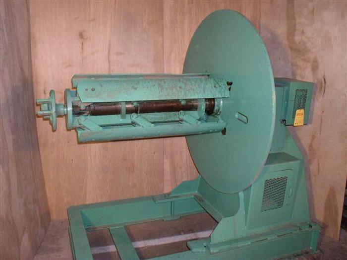 "Used 6,000 lb. x 36"" Bradbury Model SR 6.5 Coil Reel"