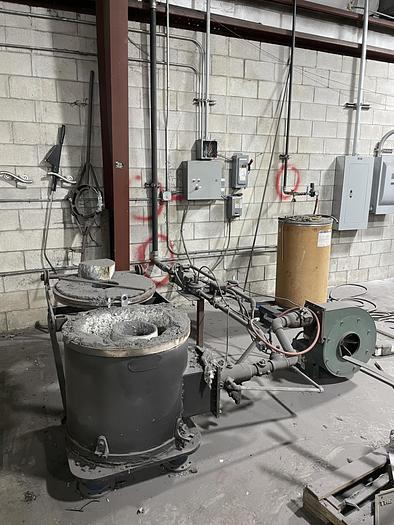Used STATIONARY FURNACE GAS FIRED
