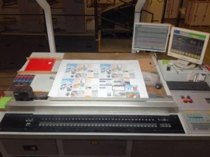 Used Man-Roland 708 3B with sheeter Mabeg