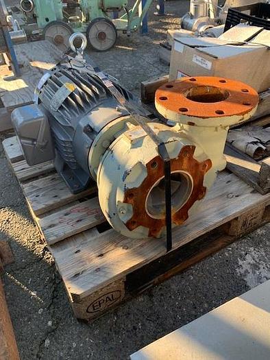 """Used 5""""x 4"""" 20 Hp Peerless Mild Steel Centrifugal Pump"""