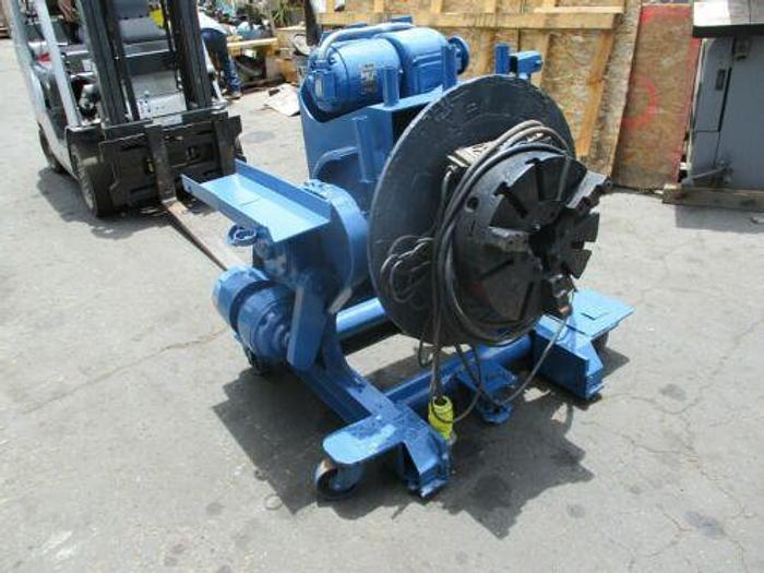 Used Reed Webb 2,500 lb. Motorized Welding Positioner Model P25R With Power Tilt.