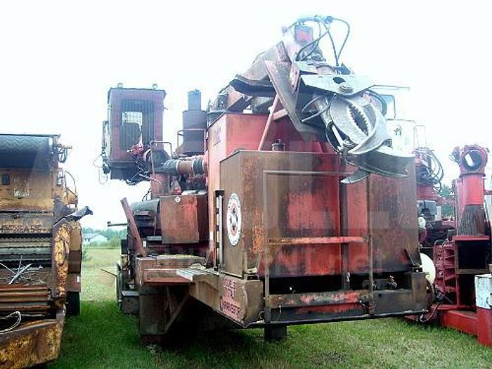Used 2002 Morbark 30 RXL Chipper with Morlift 1000 boom
