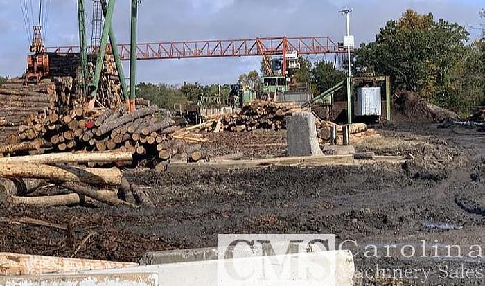 Used Almund 20 Ton Log Crane with Grapple