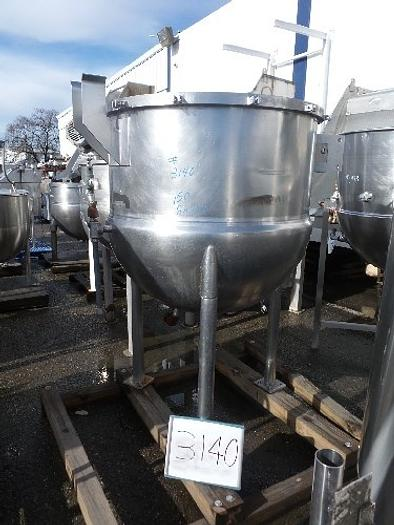 LEE 150 Gallon Jacketed Stainless Steel Kettle