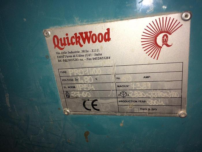 Quickwood PRO1400 Wide Belt Sander
