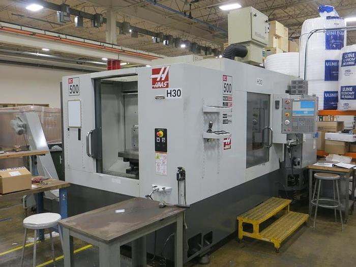 Used 2010 Haas EC-500 4-Axis