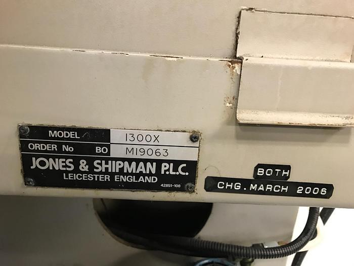 "JONES & SHIPMAN 1300X/650 10"" X 27"" OD/ID PROGRAMMABLE UNIVERSAL GRINDER"