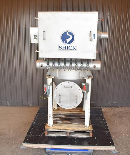 Used USED SHICK DUST COLLECTOR, MODEL IQC FILTER, STAINLESS STEEL