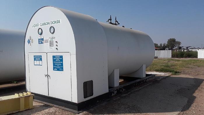 Used 14 Ton Tomco C CO2 Bulk Storage Tank