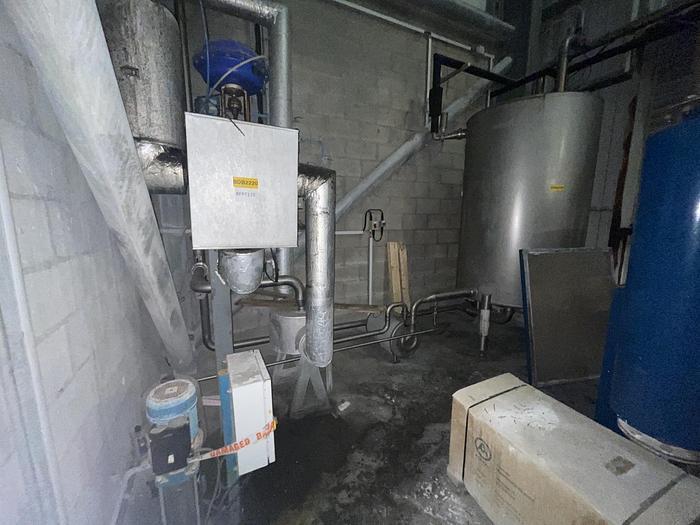 Used NNP NNP Fluid Bed C.I.P Heater & Pump