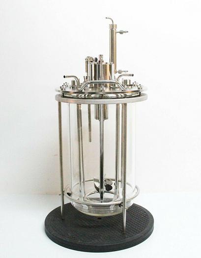 Used Applikon Broadley James BV-C1001-15R 15L Bioreactor w/ Accessories USED (7053) R