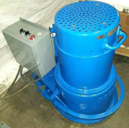 Used Nobles T22 Spin Dryer Extractor hot air dry parts cleaning Refurbished + Basket