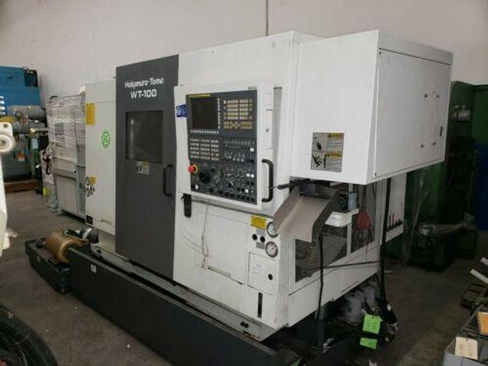2007 NAKAMURA TOME WT-100 TWIN SPINDLE, TWIN TURRET TURNING / MILLING CENTER