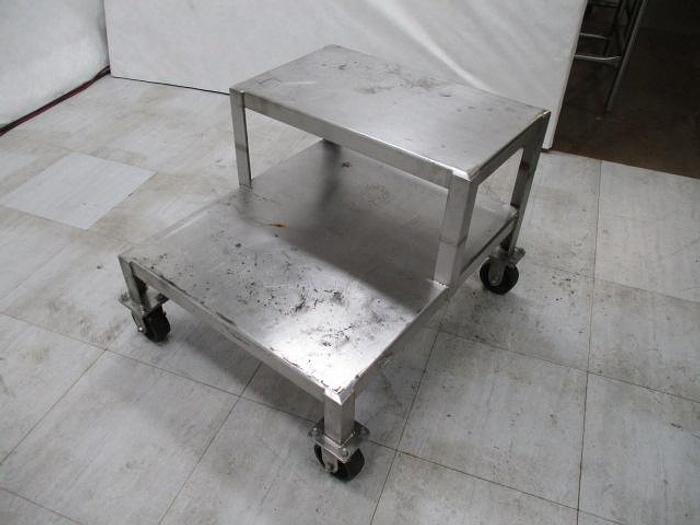 """Used Cart; Stainless Steel; 36""""x 30"""""""