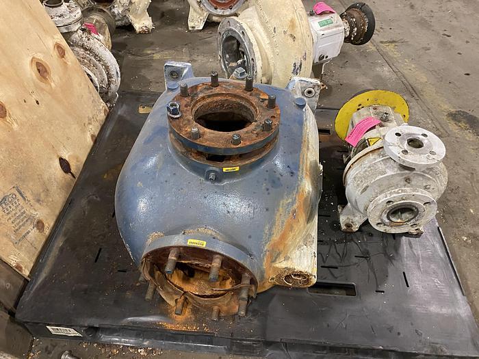 Used GORMAN RUPP MDL. 88B2-B TRASH PUMP CASING