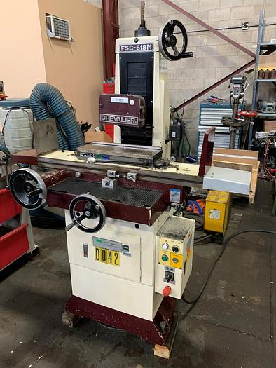 """Used 6"""" X 18"""" CHEVALIER, MANUAL SURFACE GRINDER"""