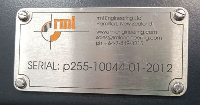 RML P715 P255 Packaging